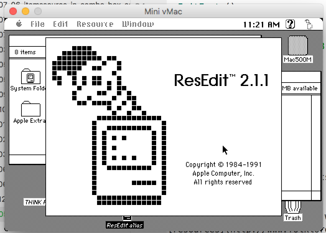 ResEdit is ready to go